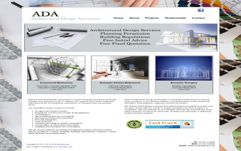 ADA Architectural Southport by Southport Web Design