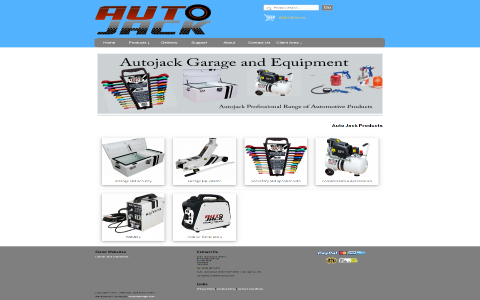 Auto Jack Tools Direct by Southport Web Design