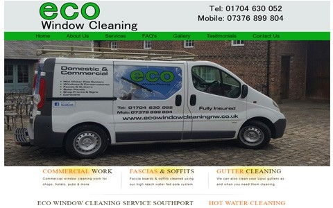 ECO Window Cleaning by Southport Web Design
