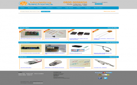 Modelling Electronics by Southport Web Design