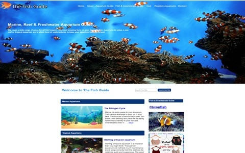 The Fish Guide by Southport Web Design